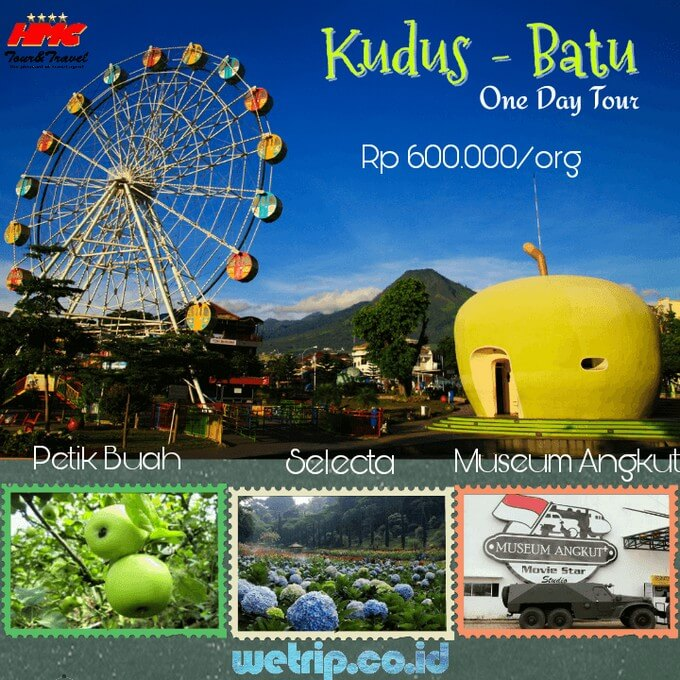 Kudus Malang Batu 1 Day Tour (Best price guarantee)