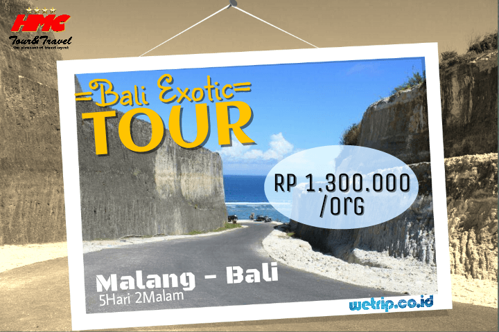 Malang Bali Exotic Tour 5 Hari 2 Malam (Best price guarantee)